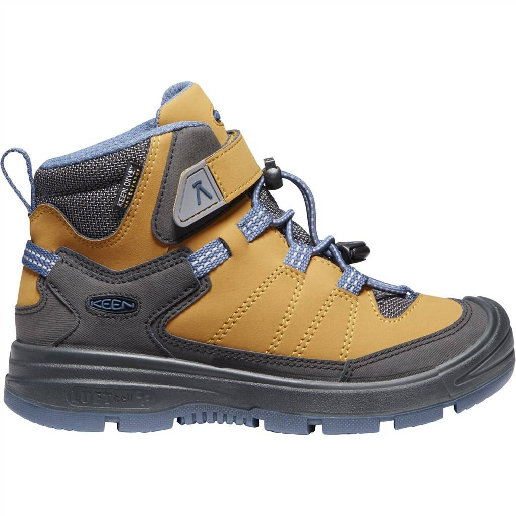 KEEN - C Redwood Mid WP - harvest gold/vintage indigo